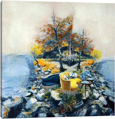 Duet Island Canvas Art Print