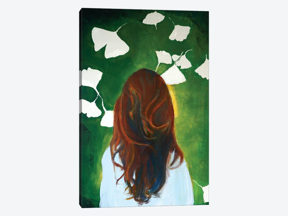 Gingko Girl by Isabelle Joubert 1-piece Art Print