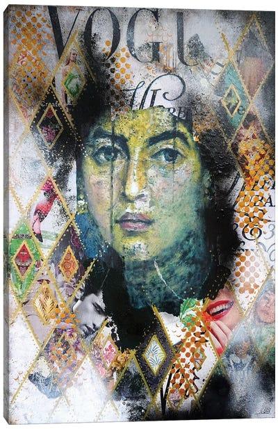 Malachite Fayum Canvas Art Print