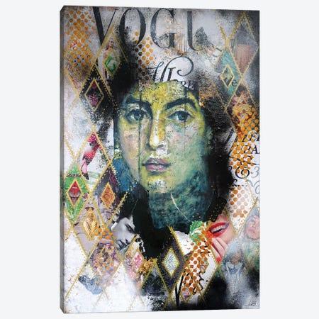 Malachite Fayum Canvas Print #IJO25} by Isabelle Joubert Canvas Wall Art
