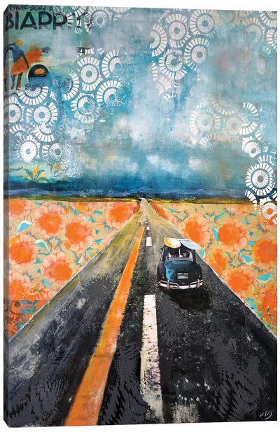 Rendez Vous À Biarritz Canvas Art Print