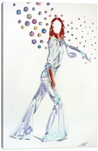 Bubble Au Grand Pantalon Canvas Art Print