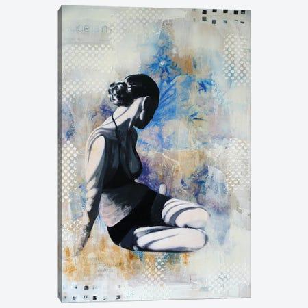 Chardons Bleus I Canvas Print #IJO4} by Isabelle Joubert Canvas Art Print
