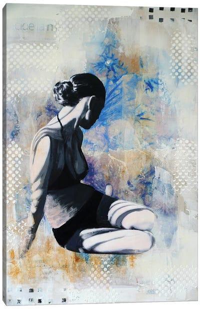 Chardons Bleus I Canvas Art Print