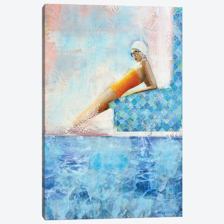 Yellow Sunshine Canvas Print #IJO50} by Isabelle Joubert Canvas Artwork