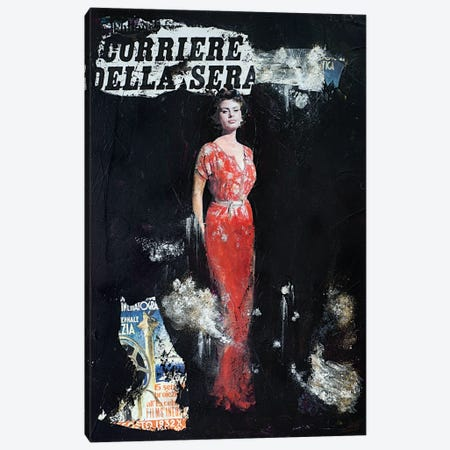 Sophia Canvas Print #IJO52} by Isabelle Joubert Canvas Wall Art