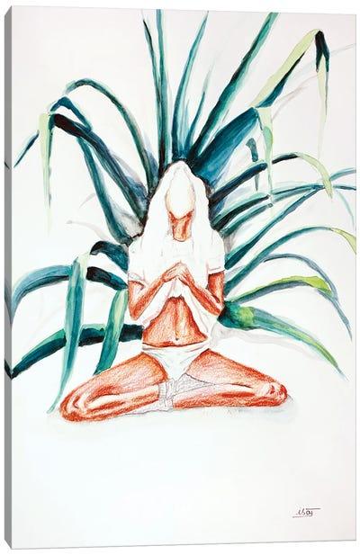 Lotus Canvas Art Print