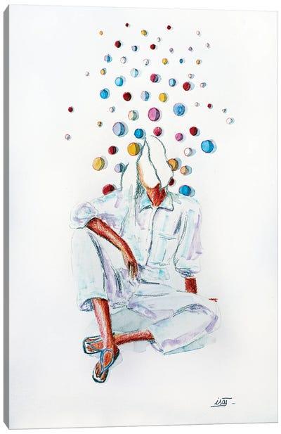 Bubble Assise Canvas Art Print