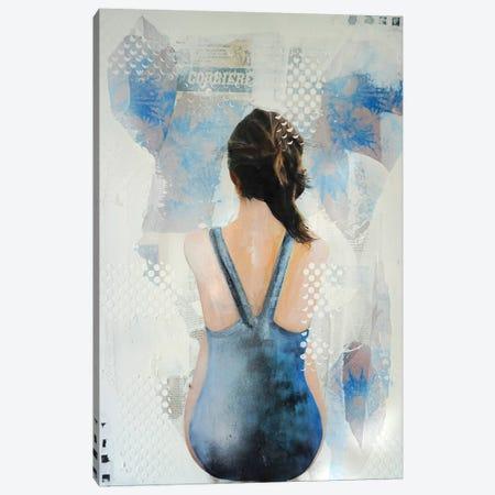 Chardons Bleus II Canvas Print #IJO5} by Isabelle Joubert Canvas Print