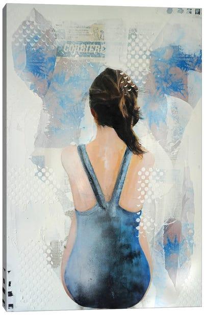 Chardons Bleus II Canvas Art Print