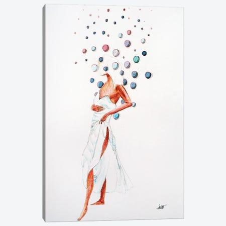 Bubble À La Robe Légère Canvas Print #IJO60} by Isabelle Joubert Canvas Art Print