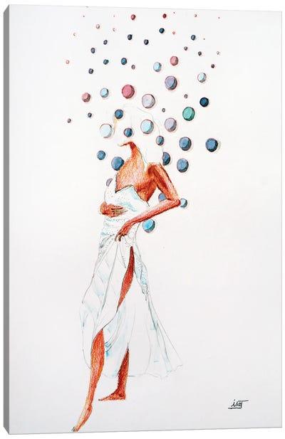 Bubble À La Robe Légère Canvas Art Print