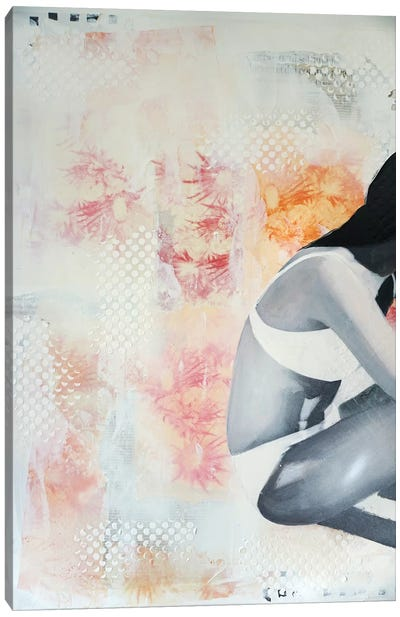 Chardons Roses Canvas Art Print