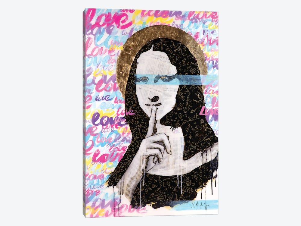 Mona's Secret by Iness Kaplun 1-piece Canvas Artwork