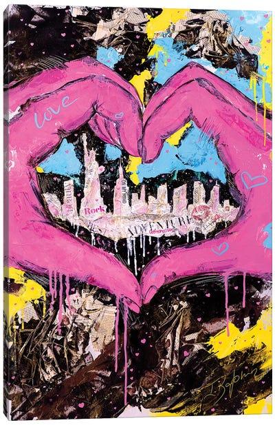 One Love Canvas Art Print