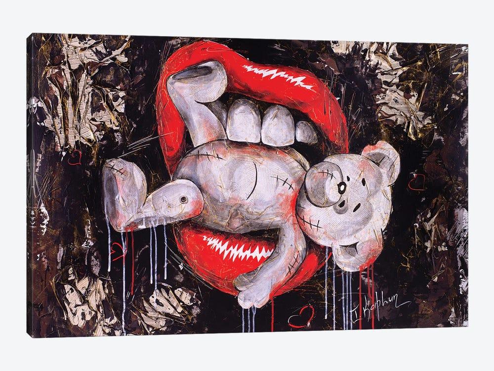 White Bear by Iness Kaplun 1-piece Canvas Art Print