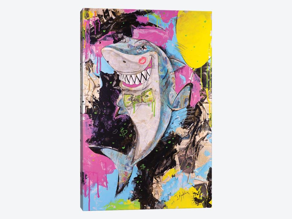Shark by Iness Kaplun 1-piece Canvas Artwork