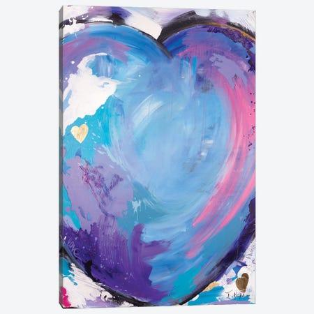 Big Love Canvas Print #IKA30} by Iness Kaplun Art Print
