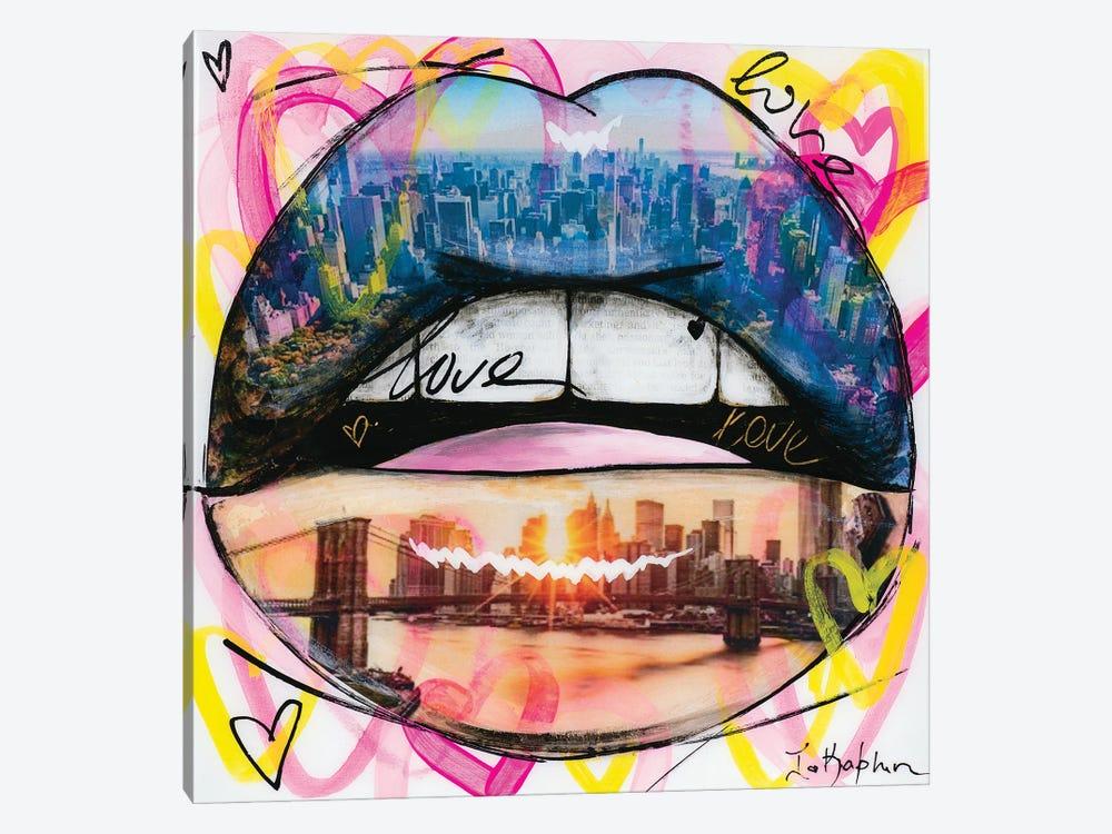 Love Lips by Iness Kaplun 1-piece Canvas Print