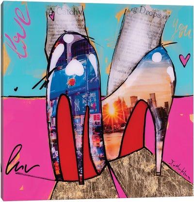 City Girl  Canvas Art Print