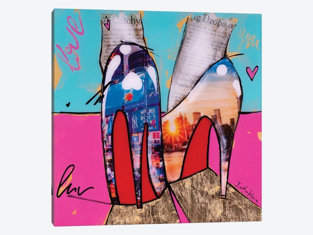 City Girl  by Iness Kaplun 1-piece Canvas Wall Art