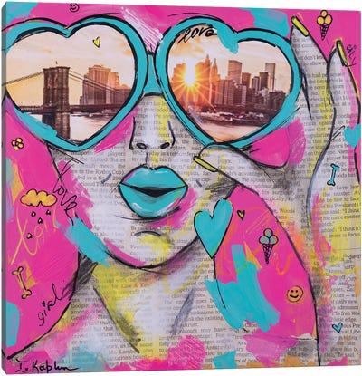Love City Canvas Art Print