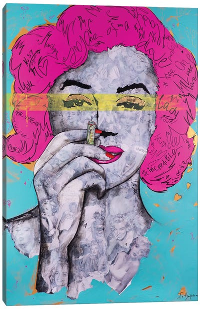 Fabulous Imperfection I Canvas Art Print
