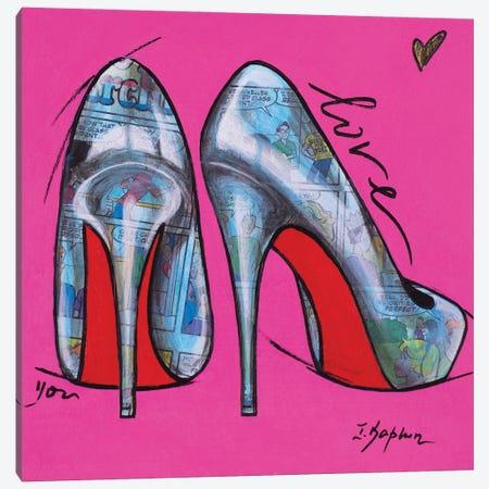 Girls' Dream Canvas Print #IKA44} by Iness Kaplun Art Print