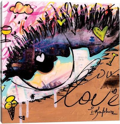 Love NY Canvas Art Print