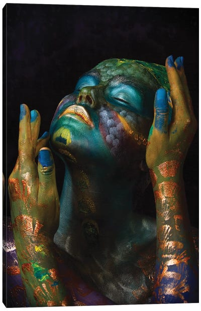 Fish & Oil Canvas Art Print