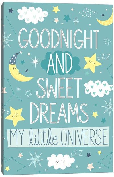 Baby My Little Universe II Canvas Art Print