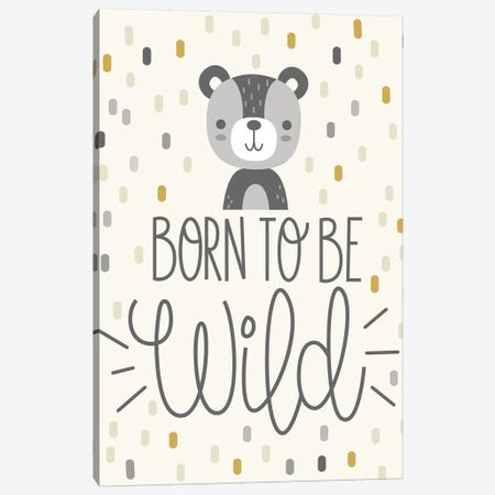 Cute And Wild III Canvas Print #ILA3} by Ilis Aviles Canvas Wall Art