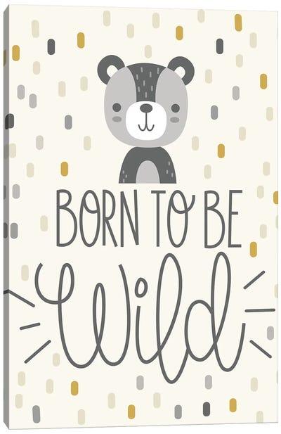 Cute And Wild III Canvas Art Print