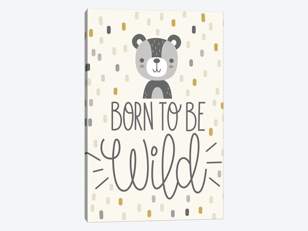 Cute And Wild III by Ilis Aviles 1-piece Canvas Artwork