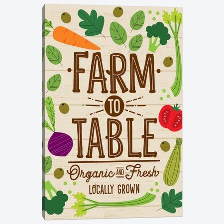 Farm Fresh I Canvas Print #ILA4} by Ilis Aviles Canvas Art Print