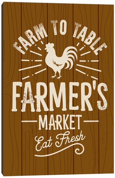 Farm Fresh II Canvas Art Print