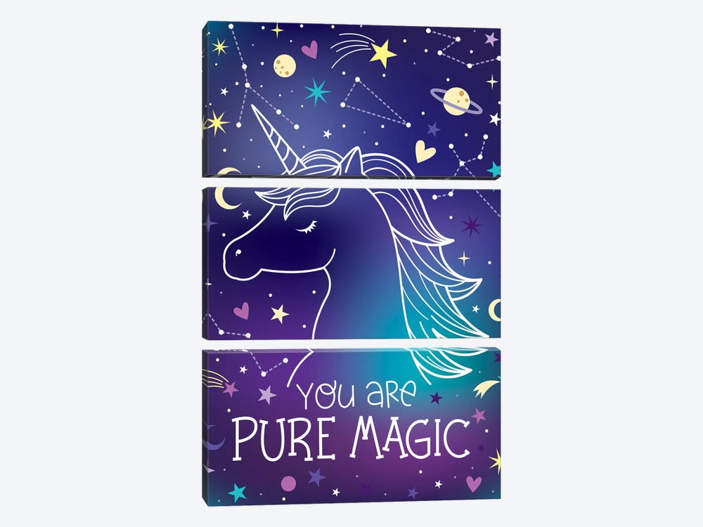 Everyday Stay Magical I by Ilis Aviles 3-piece Canvas Wall Art