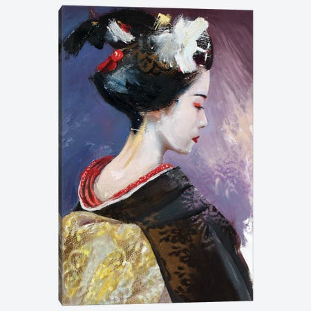 From Memoirs Of A Geisha (L'une 85) Canvas Print #ILC6} by Catalin Ilinca Canvas Print