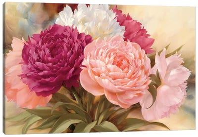 Sweet Memory I Canvas Art Print