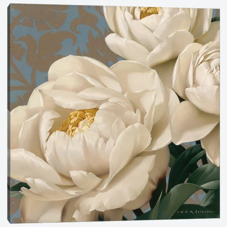 Dolce Peonia Canvas Print #ILE4} by Igor Levashov Canvas Print