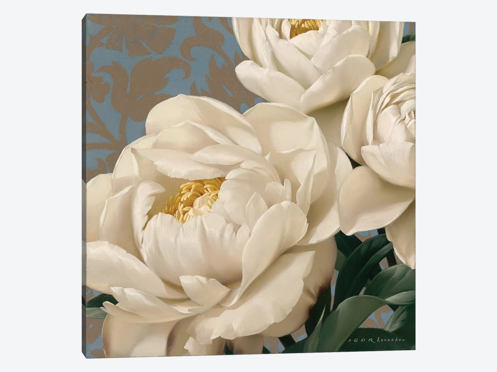 Dolce Peonia 1-piece Canvas Art Print