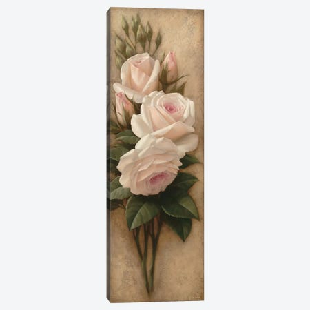 Pink Petals I Canvas Print #ILE8} by Igor Levashov Canvas Wall Art