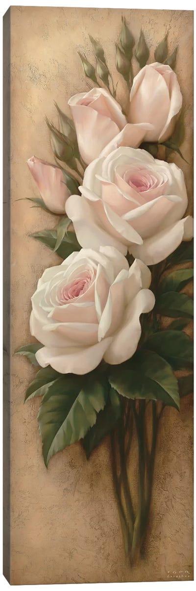 Pink Petals II Canvas Art Print