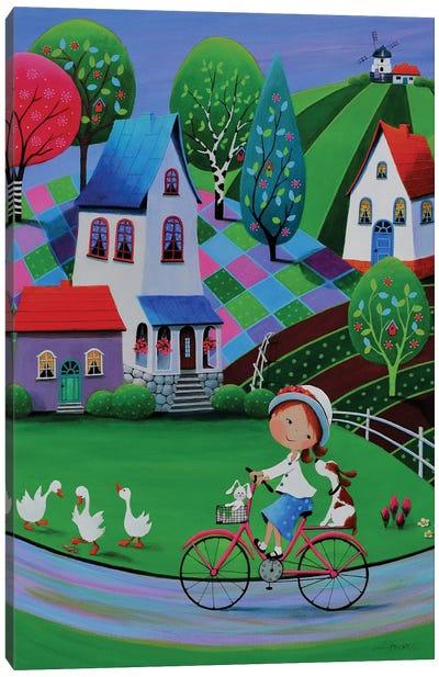 New Easter Bonnet Canvas Art Print