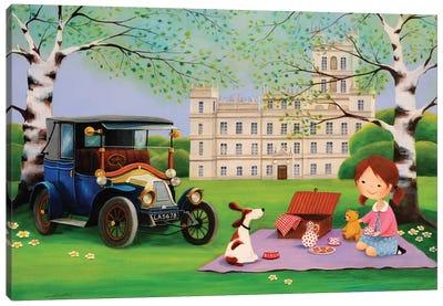Picnic In Downton Abbey Canvas Art Print