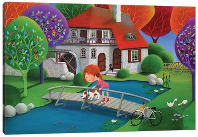 Poohsticks Canvas Art Print