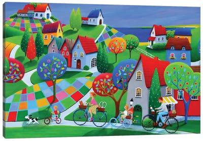 Happy Summer Days Canvas Art Print