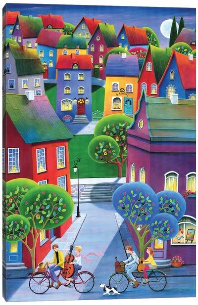 Jazzy Riders Canvas Art Print