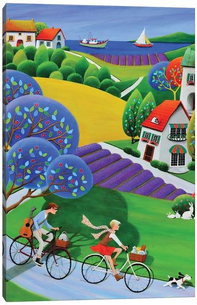Lavender Weekend Canvas Art Print