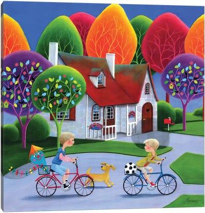 Happy Bro Days Canvas Art Print